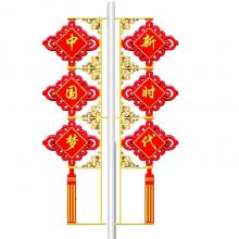 西安站-路灯装饰LED中国结灯特价批发