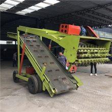青储窑饲草料装车取料机 液压驱动切割草料扒料机 移动式农场挖草机