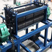 鑫鹏散热器拆分机新型小型水箱拆解机操作流程