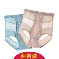 夏季薄款产后收腹裤头女高腰收胃塑形美体收复收腹提臀内裤女塑身