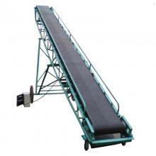 加厚皮带输送机厂家 移动式皮带输送机 零售PVC流水线价格优惠