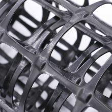 热销双拉塑料土工格栅 路基加固双拉熟料格栅 源头厂家  塑料格栅