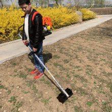 可定做斜跨式松土机 背负式割草机 四冲程割灌机厂家