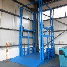 鸡西市导轨升降货梯 定制厂房货物升降机