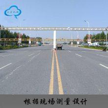 智能限高架 公路桥梁手动杆龙门架 远程遥控 液压限高架 限高杆