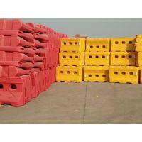 上海塑料注水围挡批发、市政工程道路施工安全隔离防撞桶水马围挡防撞桶。