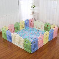 宝宝游戏围栏儿童栅栏家用爬行垫学步婴儿围挡室内玩具防护栏
