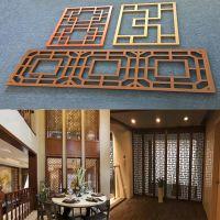 广州厂家直销珠三角 木纹铝窗花2.5mm 来图定制造型铝屏风