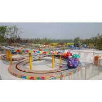 迷你穿梭 郑州宏德游乐定制双环轨道游乐设备广场游艺机儿童爬山车