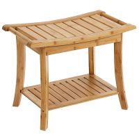 竹制浴室凳子 浴室置物架 收纳架 毛巾架 修改