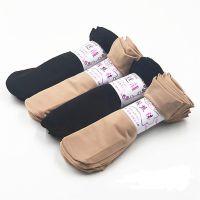 2019春夏新款钢丝短袜女士短丝袜防勾丝对对袜子女丝袜厂家批发