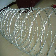 加工定制刀片刺绳刺网 防盗滚笼 围墙刺绳滚笼