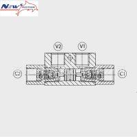 A-VRPD/C 38液压锁NS液压锁随车吊配件徐工随车吊液压锁