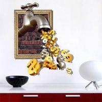 客厅玄关装饰画挂画油画沙发背景墙装饰3d立体壁画客厅风景仿真画