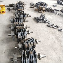黄山供应 破碎机耐磨件 锤式碎石机易损件 高锰钢锤头