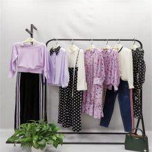 阿莱贝琳一线秋连衣裙长袖19夏品牌加盟折扣女装尾批发一手货源新款
