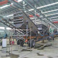 山西太原时产30-300吨移动碎石机价格 博洋移动性强流动碎石机