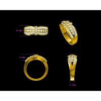 925纯银镶嵌红宝石戒指 女批发 女戒指型号 —粉晶饰品定制厂家