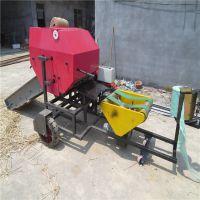 皮带传输牧草自动打捆机 提高饲草发酵环境的包膜机 中泰机械