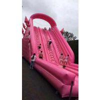 百米粉色滑道租赁网红粉色滑道出租粉色全城粉色滑道价格