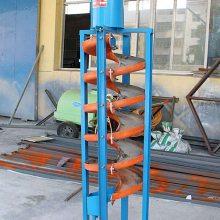 钽铌矿硫铁矿用溜槽 选矿螺旋溜槽LL-1500型号 钛铁矿洗煤溜槽厂家