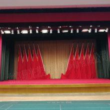 北京舞台幕布生产厂家剧院舞台幕布阻燃舞台幕布天鹅绒幕布