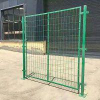 框架护栏网厂家 车间护栏网 铁丝网围栏多少钱