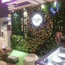 广州苔藓植物墙装饰 服装店背景墙效果图 高仿真绿植墙室内装饰