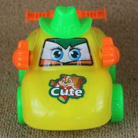 车模 仿真惯性拉线玩具汽车 儿童塑料模型玩具车 地摊货源批发