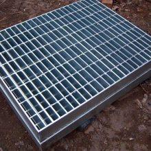 广东厂家定制工地镀锌钢格板 不锈钢钢格栅 水厂平台钢格板