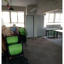 潮州活动隔断屏风供应商培训室/教室/会议厅移动屏风隔断墙
