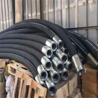 耐油高压胶管总成 钢丝缠绕高压胶管 输油胶管 大口径高压胶管