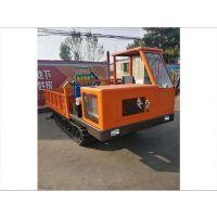 双驾驶农用履带运输车,全地形橡胶履带运输车, 水田、 山地皆可使用