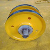 批发销售 起重机滑轮组 槽底610mm 32T轧制滑轮组