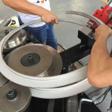 永丰套装机械设备 法兰成型机冲孔机圆法兰冲孔机FL60型 角钢法兰冲孔机