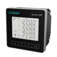供应爱博精电Acuvim200三相多功能电力仪表,波形抓取功能