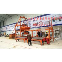 供应单人操作混凝土预制块设备,自动上料预制设备,布料机