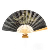 厂家直销半手工工艺折扇 广告纸扇绢布扇扇子 拍摄道具扇子支持来图来样定制