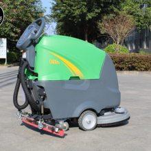手推式洗地车 鸿畅达 电动洗地车 物业洗地机 机场洗地机 地铁洗地机
