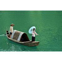 江苏木船厂家供应仿古木船 观光乌篷船 小型景观装饰船 餐饮画舫船 杉木定制
