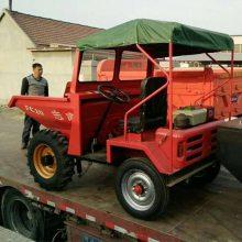 销售精品小吨位运输柴油机 工地前卸式翻斗车 两驱运输工程车