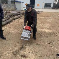 国人用国产挖树机 添加混合油起树机 买挖树机送拉线盒