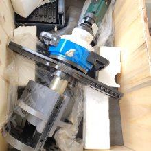 管道坡口电动工具 內胀式管子倒角铣边机