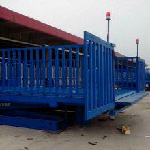 养殖厂平台电动移动固定卸猪台装猪运猪牛羊猪上下升降机登车桥梯