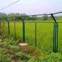 绿色护栏网 高速公路铁丝网 围工地铁丝网