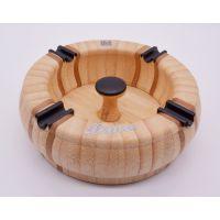 批发木色炭化竹板材竹方条生产加工竹制家居用品竹制小摆件烟灰缸