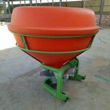 农用三点悬挂式撒肥机 小麦水稻撒肥机 后输出轴传动带扬肥机