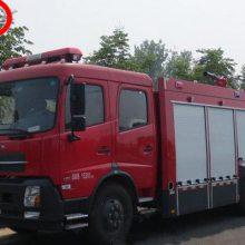 湖北江南新款东风6吨水罐消防车 -东风特商消防车-消防车厂家