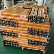 东莞中扬厂家直销PVC无动力滚筒套胶包胶滚筒/输送带滚筒/塑料托辊
