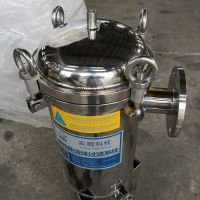不锈钢袋式过滤机 标准型袋式过滤器